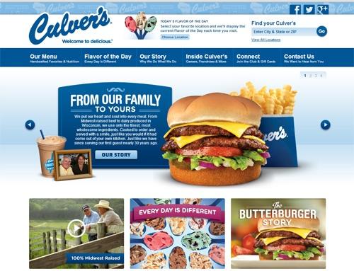 culvers website