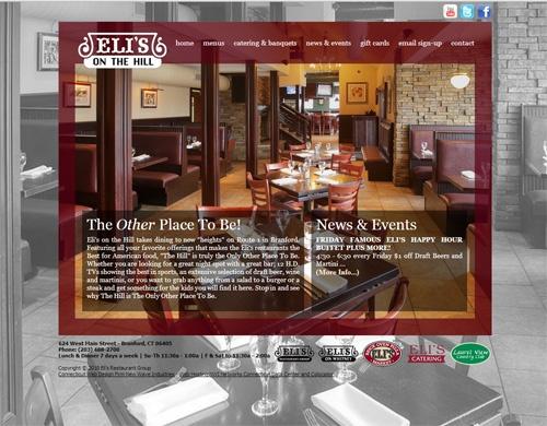 elis restaurant website