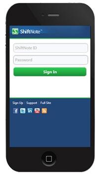 ShiftNote Mobile