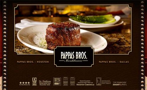 pappas bros website