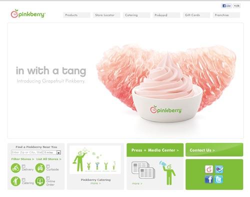 pinkberry website