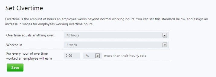 setting overtime to manage pay or play penalties