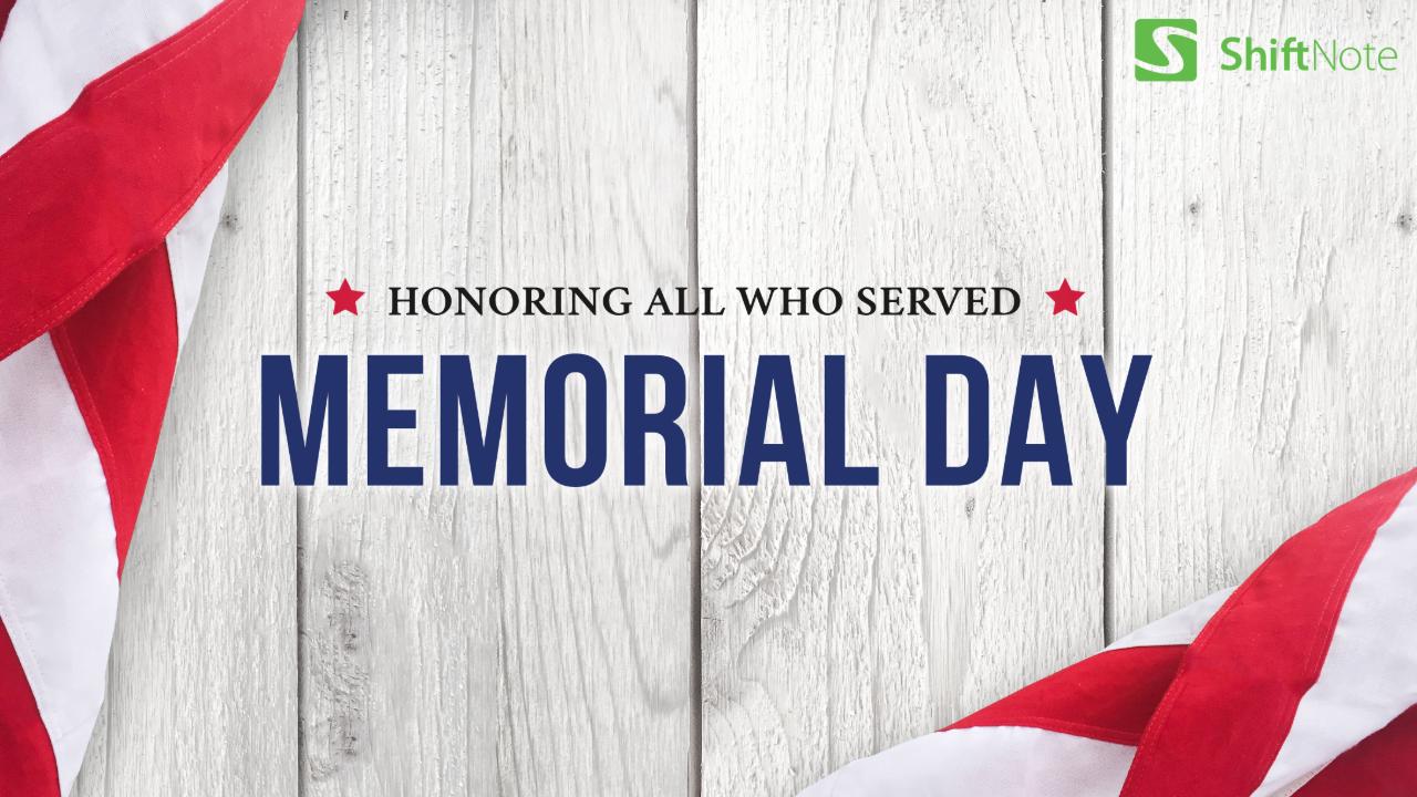 Memorial Day Blog Header Image