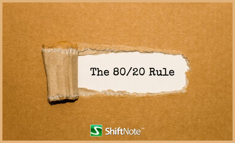 restaurant management 80 20 rule